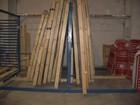 Stelažas surenkamas skirtas plokštėms sandeliuoti