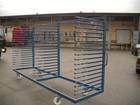 Lentų džiovinimo vežimėlis - dviejų sekcijų