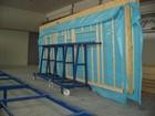 Vežimėlis skydams transportuoti 4 metrų ilgio, keliamoji galia 3 tonos